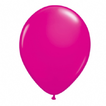 "Qualatex 11 inch Balloons - Wild Berry 11"" Balloons (Fashion 100pcs)"
